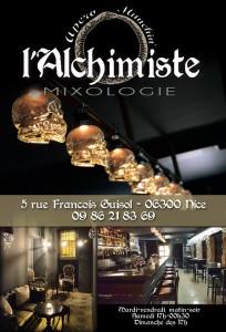 Soirée Halloween au Bar l'Alchimiste, Bonaparte, Nice, Petit Marais Niçois - Cocktail, DJ High Heels - Blog Mister Riviera 2015