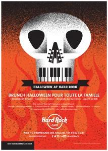 Soirée Halloween au Hard Rock Café Nice - Sortir, Brunch, Côte d'Azur - Blog Mister Riviera 2015 2