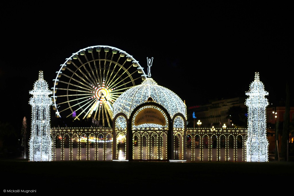 Marché de Noël Nice, Côte d'Azur - Casino de la Jetée - Promenade du Paillon - Noël 2015 - Grande Roue Place Masséna - Blog Mister Riviera - Photo Mickaël Mugnaini
