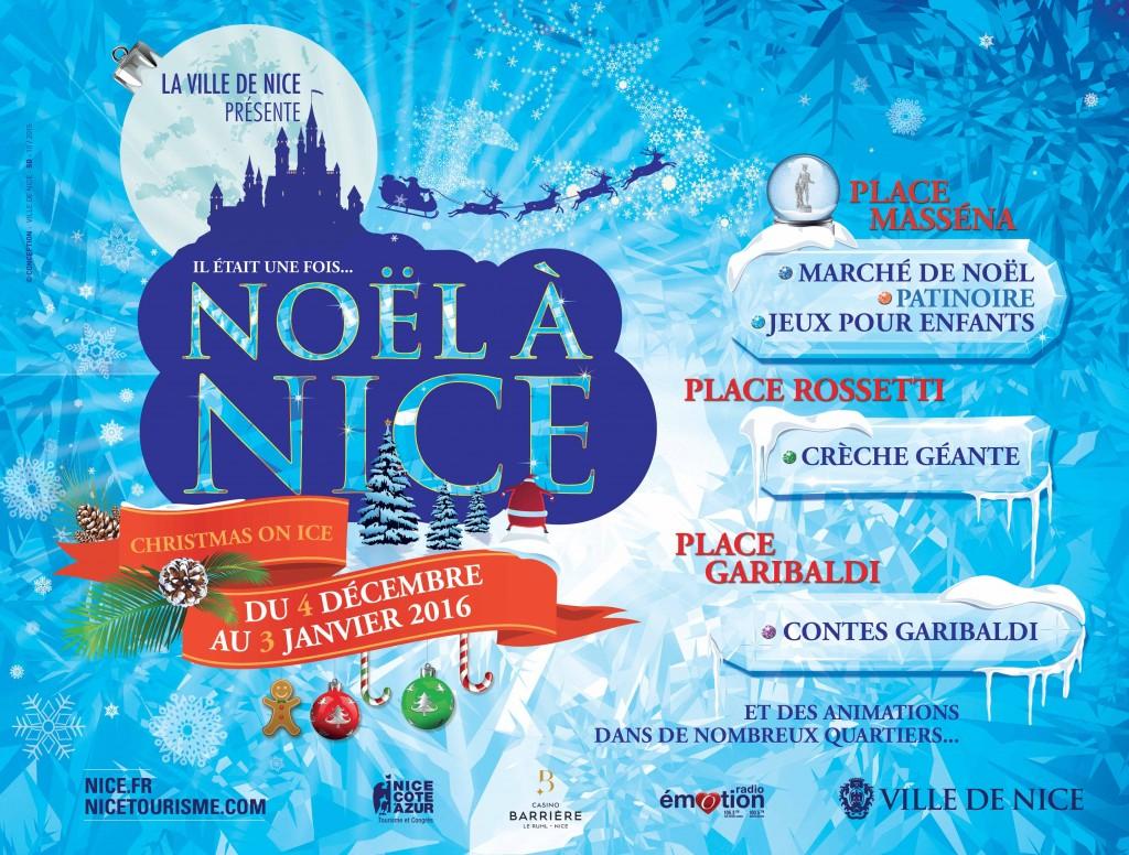 Noël à Nice, Côte d'Azur. Marché de Noël, illuminations, grandes roue, vin chaud, programme 2015 - Blog Mister Riviera