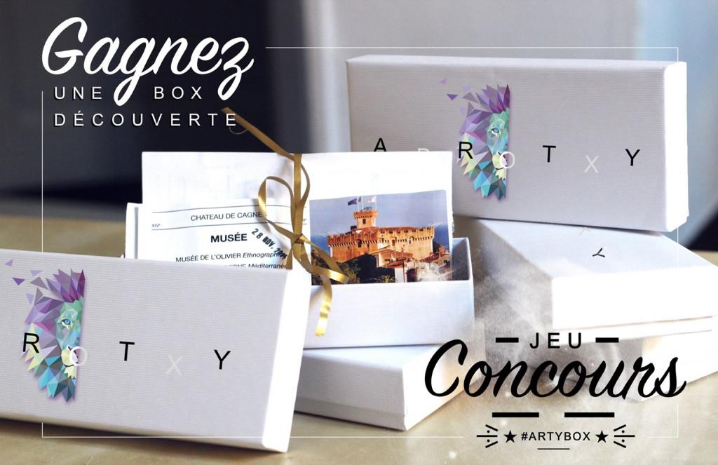 Le Blog de Mister Riviera vous fait gagner une Arty Box - Nouveau coffret trendy sur la Côte d'Azur - Nice, Cannes, Menton, French Riviera 2016 l