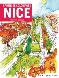 Cahier de Coloriages Nice, Côte d'Azur - Virginie Broquet - Editions Hachette Livre - Colorier la French Riviera - Blog Mister Riviera 2016