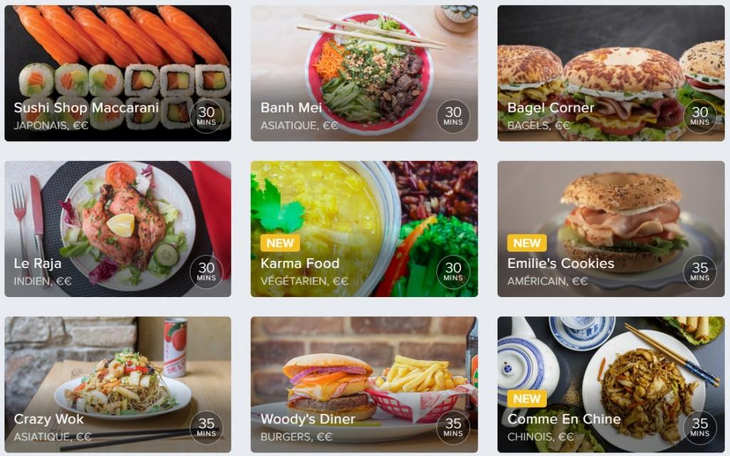Deliveroo - Livraison de vos restaurants préférés à Nice, Côte d'Azur - Banh Mei, Emilie's Cookies, Woodys Diner, crazy wok, sushi shop - Blog Mister Riviera 2016