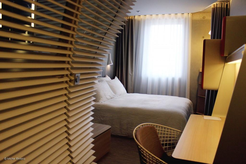 Okko Hôtel Cannes - Chambre moderne et trendy - Côte d'Azur, French Riviera - Le Club - Design Patrick Norguet - Photo Mickaël Mugnaini pour Blog Mister Riviera 2016
