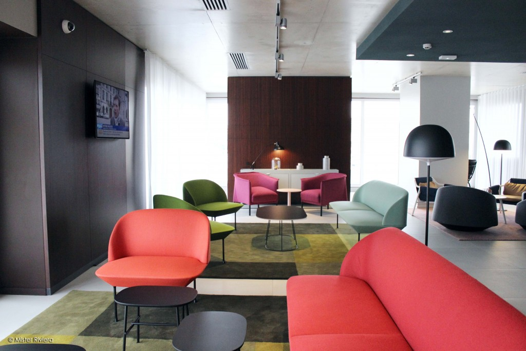 Okko Hôtel Cannes - Nouvel hôtel sur la Côte d'Azur, French Riviera - Le Club - Design Patrick Norguet - Photo Mickaël Mugnaini pour Blog Mister Riviera 2016 1