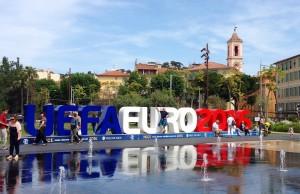 UEFA à Nice - La Ville de Nice offre une Fan Zone sur la Côte d'Azur pour suivre la retransmission des matchs de foot de l'EURO 2016 à Nice - Photo Mickaël Mugnaini Blog Mister Riviera 2016