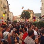Apéritif en terrasse rue Bonaparte à Nice, le Petit Marais Niçois de la Côte d'Azur - Dolly Street - Dolly Party - Le quartier Gay Friendly de Nice - Blog Mister Riviera 2016