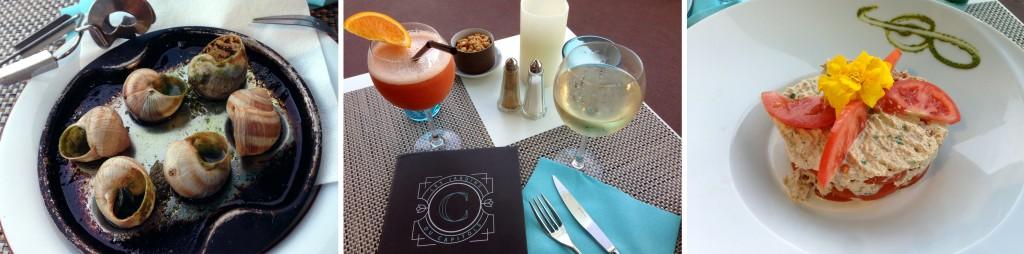 Restaurant à Nice - Les Jardins du Capitole - Blog Nice et Côte d'Azur - Les saveurs de la méditerranée à table - Promenade des Anglais , French Riviera - Blog Mister Riviera 2016