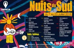Les Nuits du Sud 2016 - Gagner des invitations - Festival Concert à Vence Côte d'Azur par le blog Mister Riviera