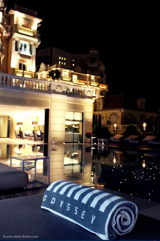 Hôtel Metropoole Monte Carlo - Piscine Odyssey par Karl Lagerfeld -Bar Lounge Restaurant Odyssey Métropole MC - Blog Mister Riviera, Monaco Côte d'Azur - Photo Mickaël Mugnaini 2016