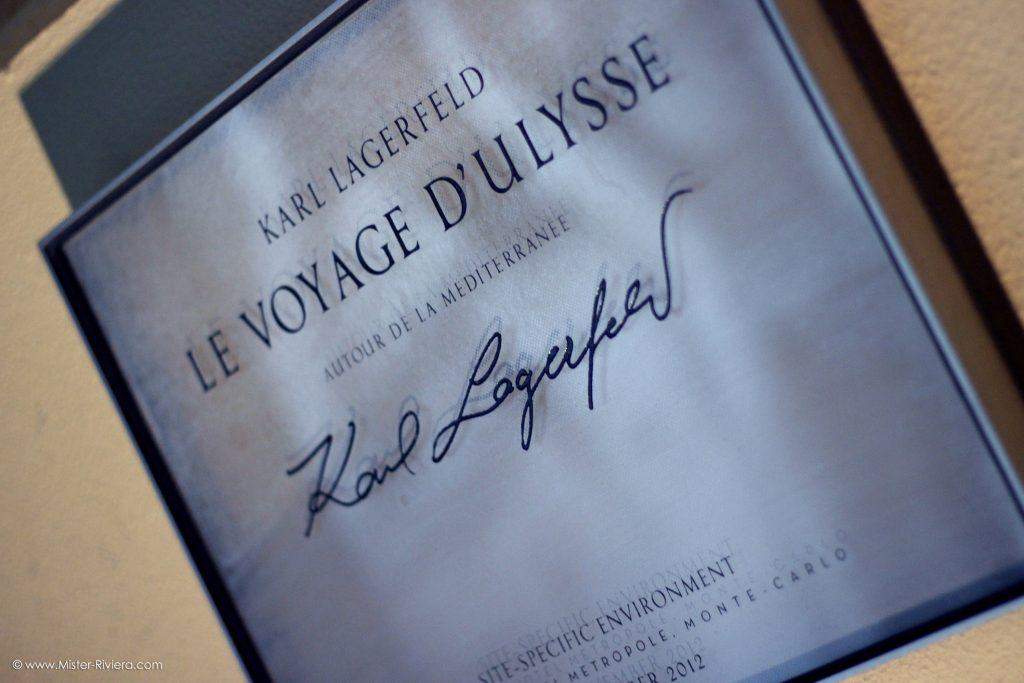 Hôtel Metropoole Monte Carlo - Signature Karl Lagerfeld - Le Voyage d'Ulysse avec Baptiste Giabiconi - Odyssey Métropole - Blog Mister Riviera, Blog Côte d'Azur - Photo Mickaël Mugnaini 2016