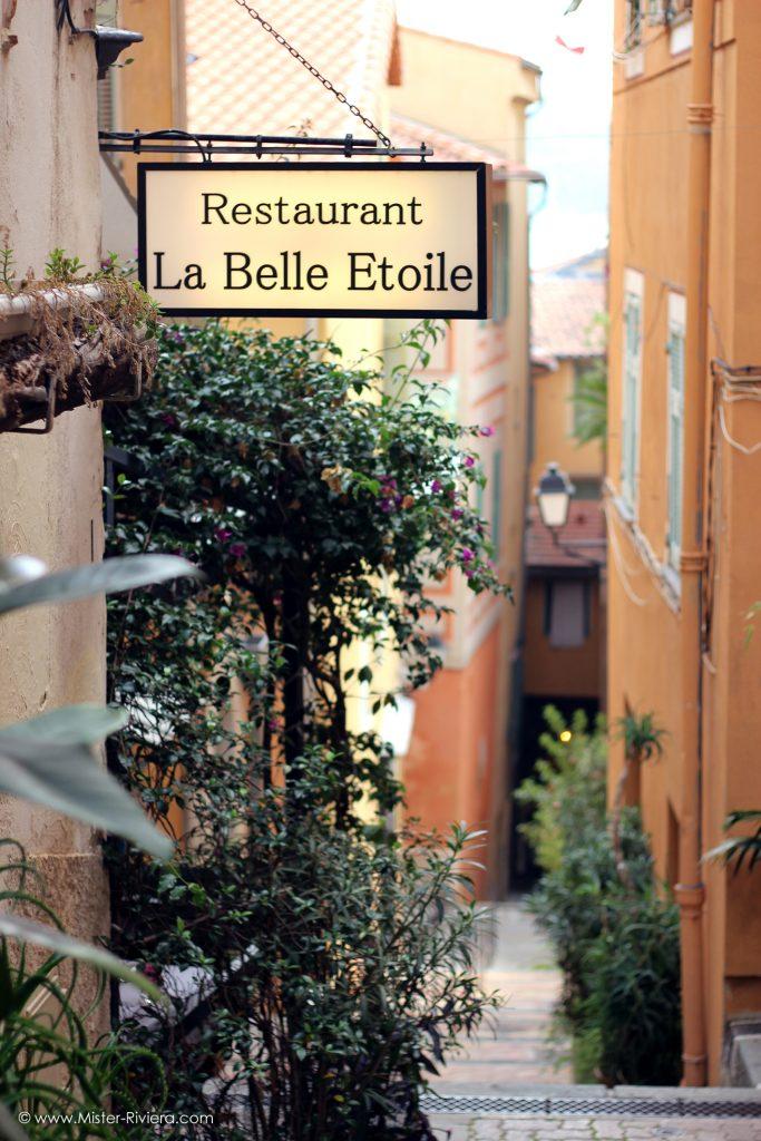 Le restaurant La Belle Etoile à Villefranche sur Mer, la révélation gastronomique 2017