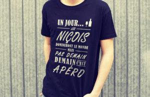 Jeu Concours : Gagnez votre tee-shirt 100% niçois par LabricotBlanc - Blog Mister Riviera 2018