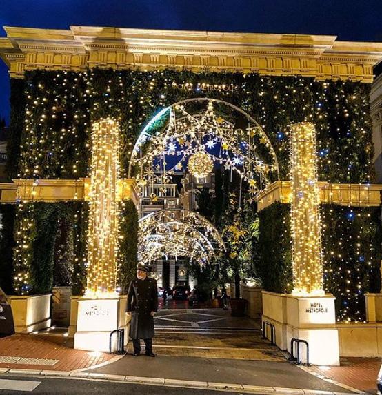 Noël à Monaco, Monte Carlo – Photo : @montecarlo_buzz