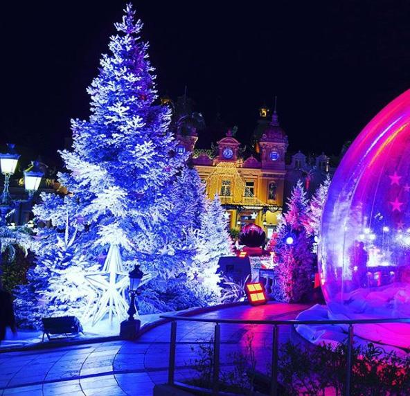 Noël à Monaco, Monte Carlo – Photo : @mika.alesi