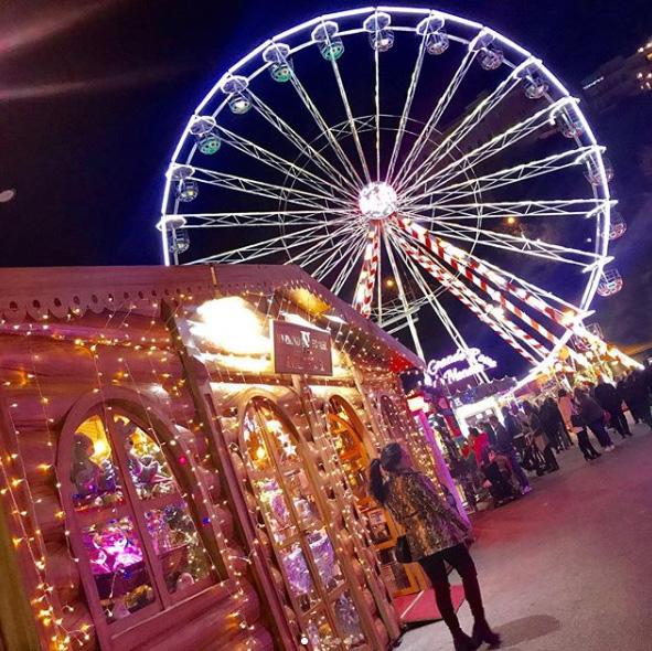 Noël à Monaco – Photo : @sheymecastro