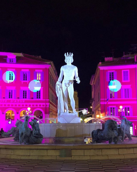 Noël à Nice, Côte d'Azur France – Photo : @sueurarnaud