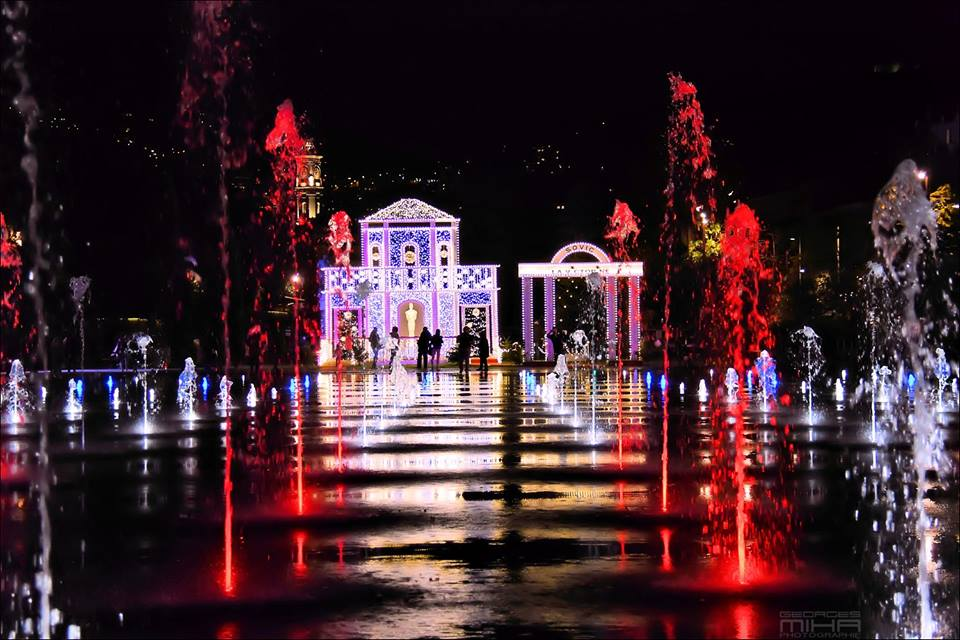 Noël à Nice, Côte d'Azur France – Photo : @georgesmiha_world_pictures