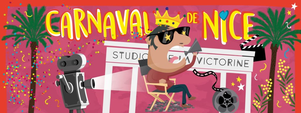 Carnaval de Nice 2019 : Le programme complet du Roi du Cinéma - Blog Mister Riviera - Ville de Nice - Côte d'Azur France