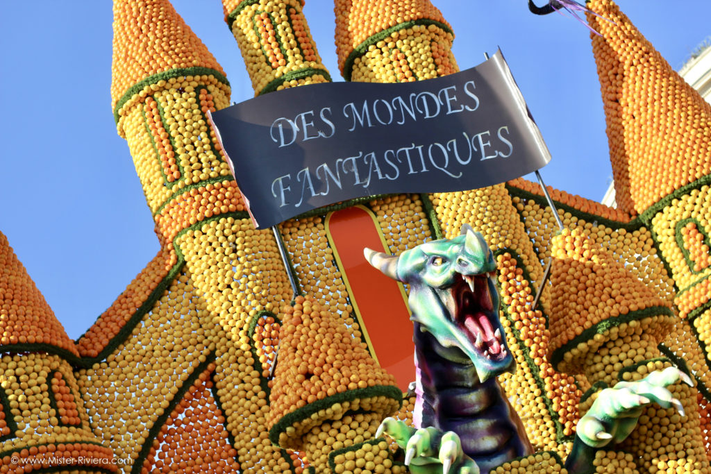 [Album Photo] Fête du Citron 2019, la ville de Menton présente Les Mondes Fantastiques - Photo Mickaël Mugnaini - Mister Riviera Blog, Côte d'Azur France