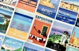 Happening : L'artiste Eric Garence distribue gratuitement ses affiches aux niçois - Blog Mister Riviera, Côte d'Azur France 2019
