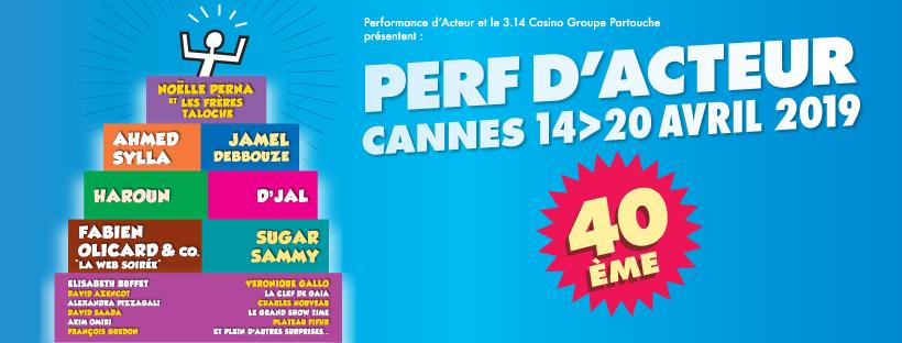 Jamel Debbouze, Noëlle Perna, Ahmed Sylla, ... réunis à Cannes pour les 40 ans de Performance d'Acteur - Blog Mister Riviera, Côte d'Azur France