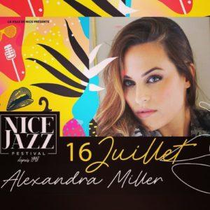 Nice Jazz Festival - Le journal de bord du Blog Mister Riviera - Lundi 16 juillet 2019 - Alexandra Miller au restaurant Miamici, Mister Riviera Blog, Côte d'Azur France