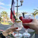 Apéro au Soleil, Nice - Blog Mister Riviera, Côte d'Azur France - Terrasse de l'Hôtel West End, Promenade des Anglais