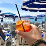 Apéro au Soleil, Nice - Blog Mister Riviera, Côte d'Azur France - Plage Beau Rivage
