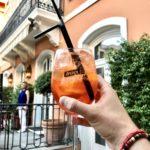 Apéro au Soleil, Nice - Blog Mister Riviera, Côte d'Azur France - Patio de l'Hôtel Ellington
