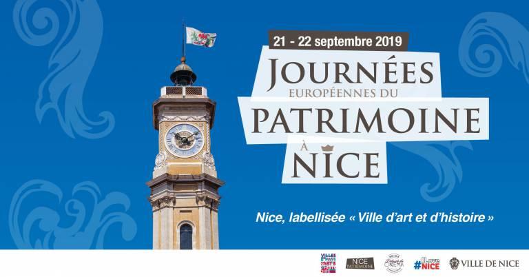 Programme Journées Européennes du Patrimoine 2019 à Nice - Blog Mister Riviera, Côte d'Azur France