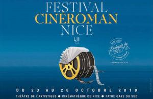 Festival CinéRoman : Les livres font leur cinéma à Nice du 23 au 26 octobre 2019 - Blog Mister Riviera, Côte d'Azur France
