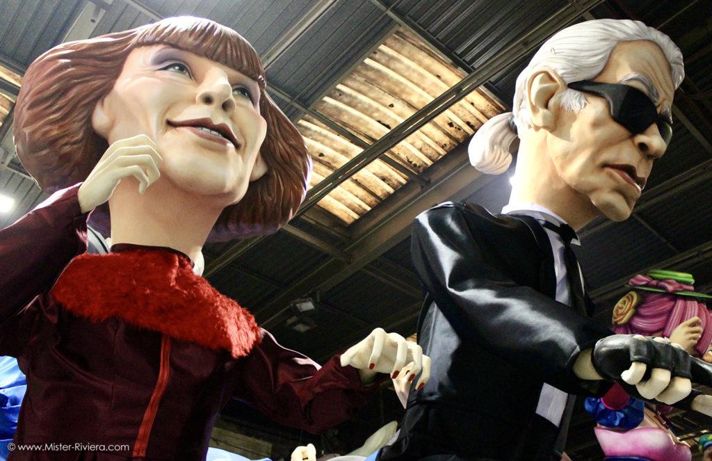 Carnaval de Nice 2020 - Les Coulisses à la Maison du Carnaval - Photo Mickaël Mugnaini - Blog Mister Riviera, Côte d'Azur France