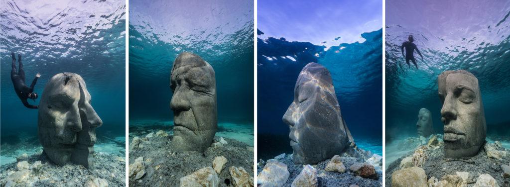 Côte d'Azur Insolite : Des statues immergées au large de Cannes - Blog Mister Riviera 2021