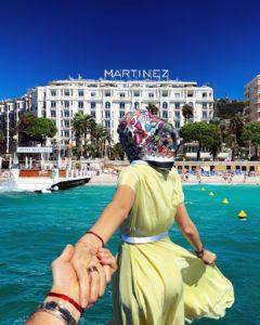 Hôtel Martinez à Cannes, en lice pour devenir l'hôtel le plus instagrammable du monde - Blog Mister Riviera, Côte d'Azur France 2021