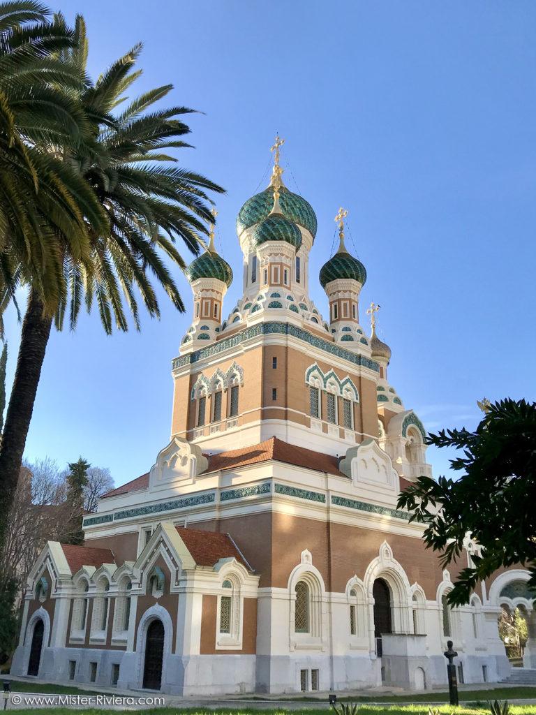Côte d'Azur insolite : découvrez 6 lieux originaux sélectionnés par le blog Mister Riviera - Cathédrale Orthodoxe Saint Nicolas Nice