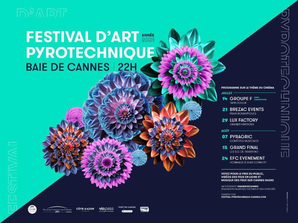 Feu d'artifice sur la Côte d'Azur : le Festival d'Art Pyrotechnique à Cannes cet été - Blog Mister Riviera, Côte d'Azur France 2021