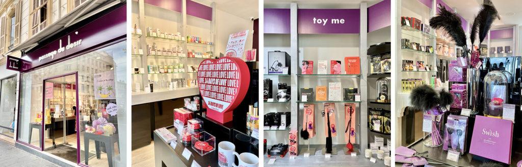 Passage du Désir, l'enseigne parisienne ouvre une boutique au centre-ville de Nice - Blog Mister Riviera, Côte d'Azur France